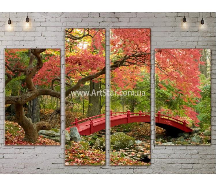Модульные картины пейзажи, Art. NATA777209