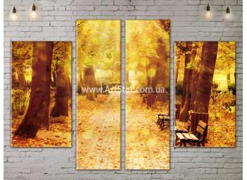 Модульные картины пейзажи, Art. NATA777223