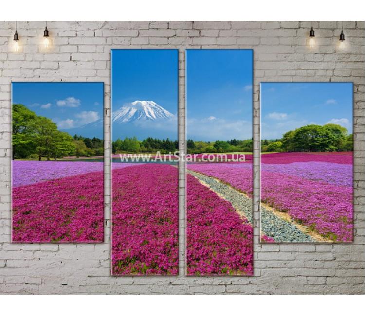 Модульные картины пейзажи, Art. NATA777227
