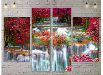 Модульные картины пейзажи, Art. NATA777245