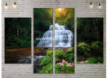 Модульные картины пейзажи, Art. NATA777249