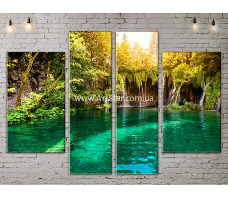 Модульные картины пейзажи, Art. NATA777253