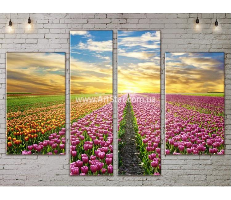 Модульные картины пейзажи, Art. NATA777261