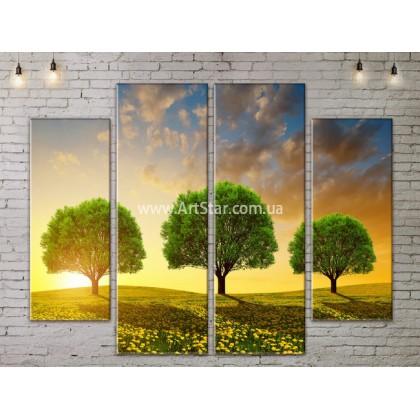 Модульные картины пейзажи, Art. NATA777263