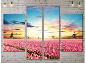 Модульные картины пейзажи, Art. NATA777283