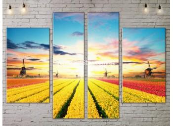 Модульные картины пейзажи, Art. NATA777285