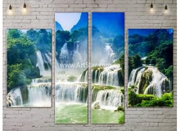 Модульные картины пейзажи, Art. NATA777287