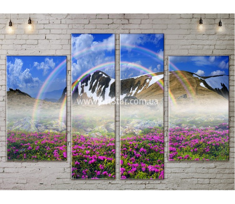 Модульные картины пейзажи, Art. NATA777291