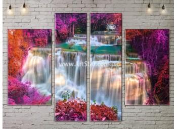 Модульные картины пейзажи, Art. NATA777297