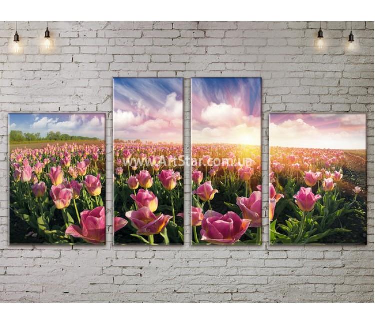 Модульные картины пейзажи, Art. NATA777299