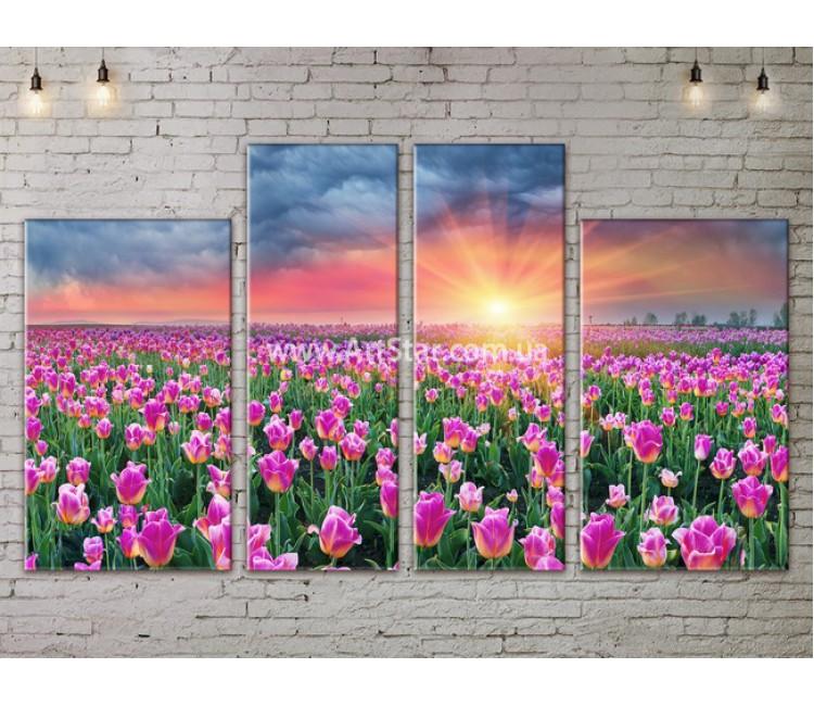 Модульные картины пейзажи, Art. NATA777307