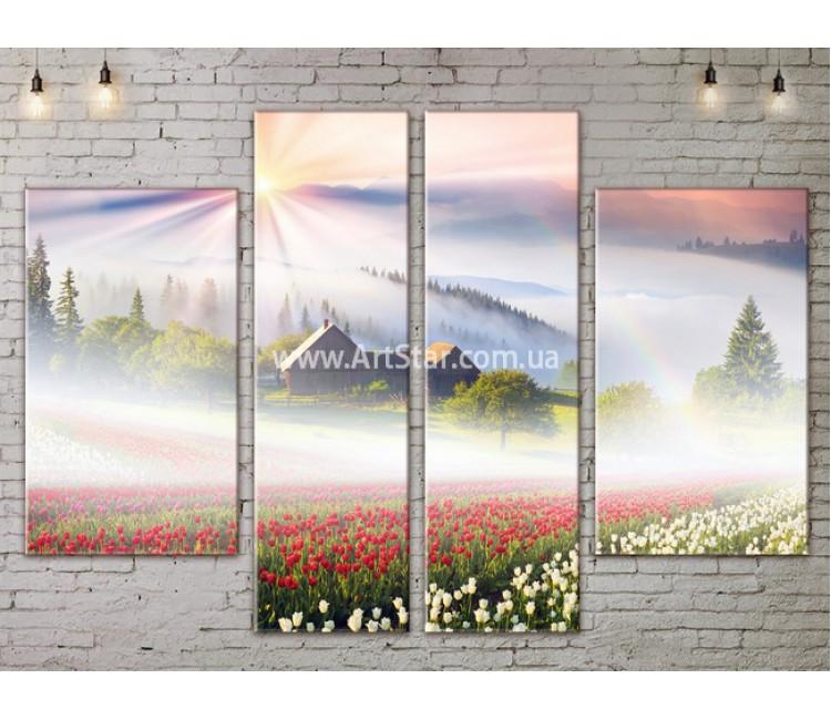 Модульные картины пейзажи, Art. NATA777311