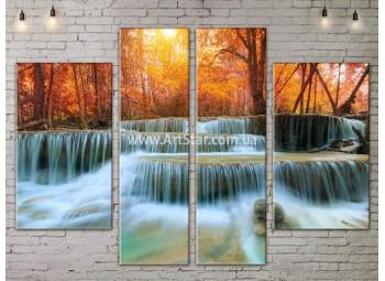 Модульные картины пейзажи, Art. NATA777313