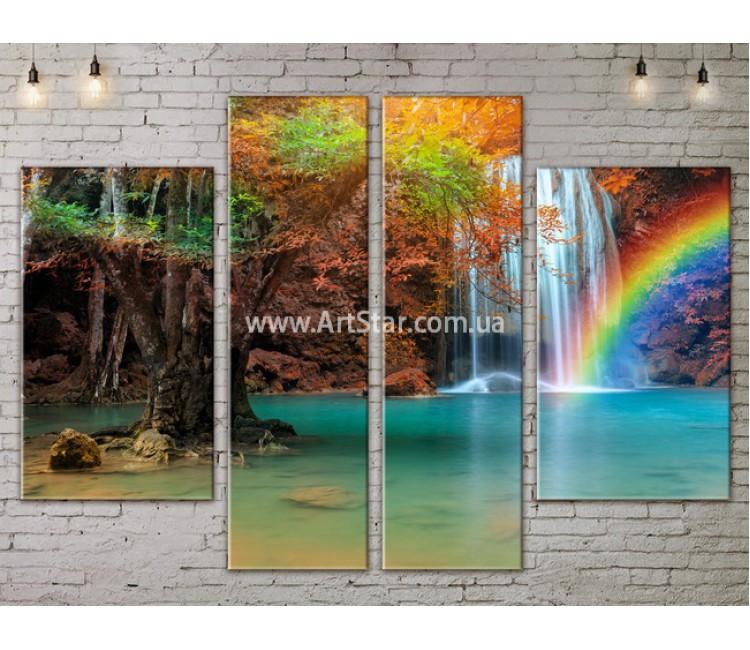Модульные картины пейзажи, Art. NATA777323