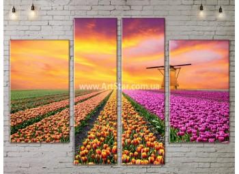 Модульные картины пейзажи, Art. NATA777327