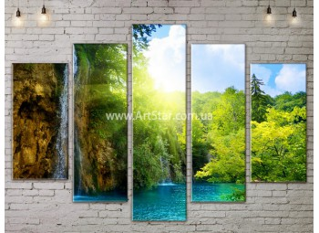 Модульные картины пейзажи, Art. NATA777333