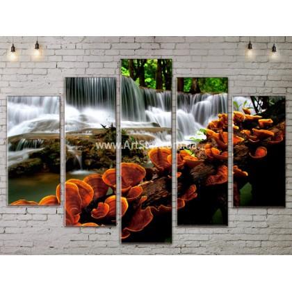 Модульные картины пейзажи, Art. NATA777337