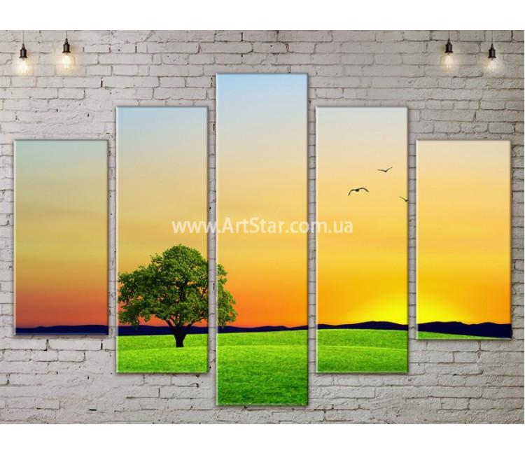 Модульные картины пейзажи, Art. NATA777345
