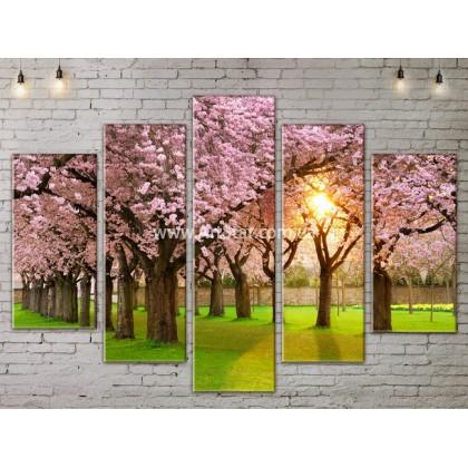 Модульные картины пейзажи, Art. NATA777347