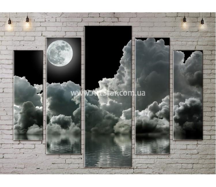 Модульные картины пейзажи, Art. NATA777349