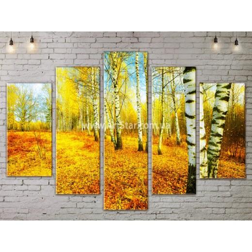 Модульные картины пейзажи, Art. NATA777351