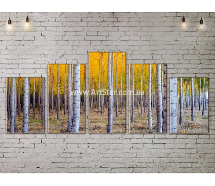 Модульные картины пейзажи, Art. NATA777353