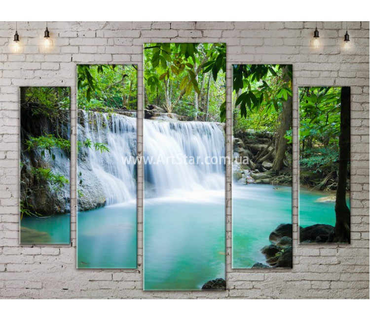 Модульные картины пейзажи, Art. NATA777357