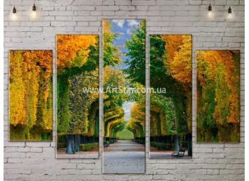 Модульные картины пейзажи, Art. NATA777359