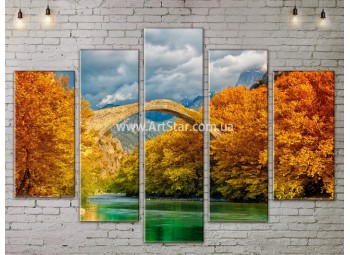 Модульные картины пейзажи, Art. NATA777363