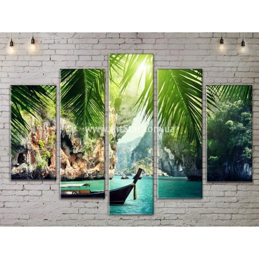 Модульные картины пейзажи, Art. NATA777381