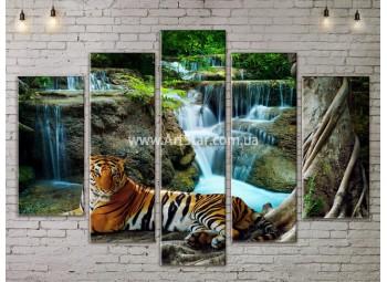 Модульные картины пейзажи, Art. NATA777383