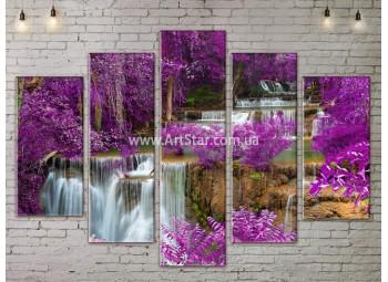 Модульные картины пейзажи, Art. NATA777385