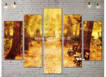 Модульные картины пейзажи, Art. NATA777387