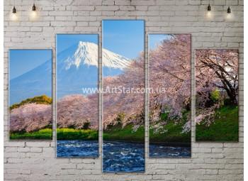 Модульные картины пейзажи, Art. NATA777389