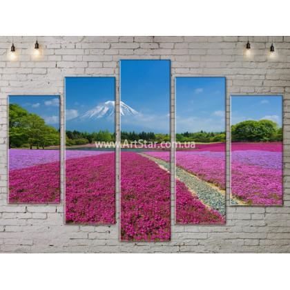 Модульные картины пейзажи, Art. NATA777391
