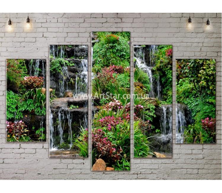 Модульные картины пейзажи, Art. NATA777395