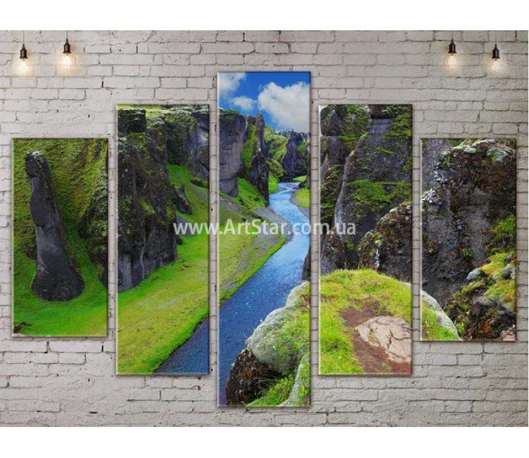 Модульные картины пейзажи, Art. NATA777407