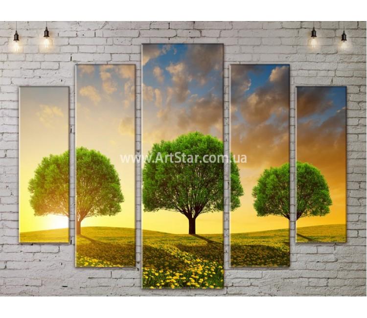 Модульные картины пейзажи, Art. NATA777427