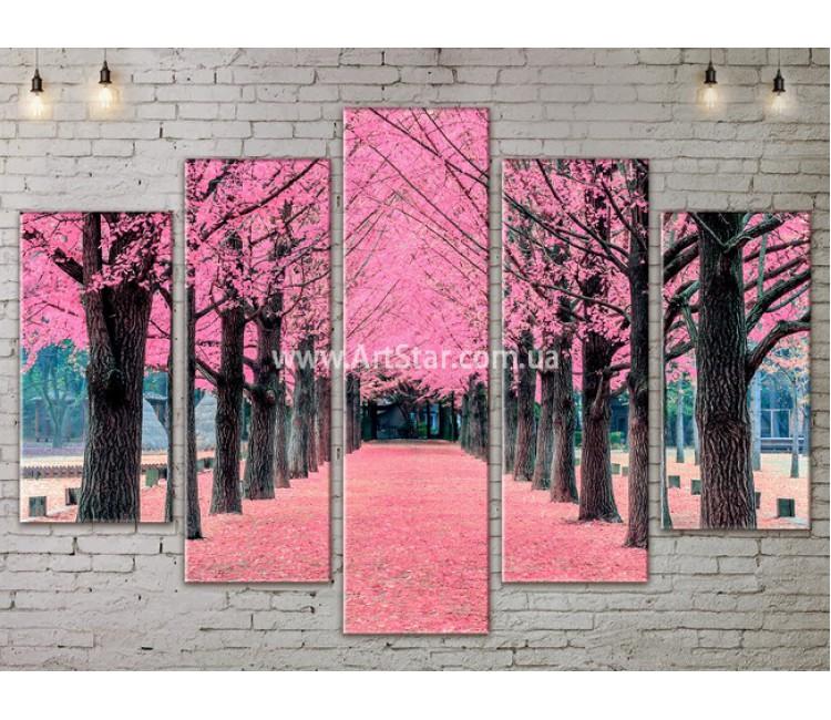 Модульные картины пейзажи, Art. NATA777439