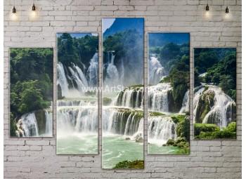 Модульные картины пейзажи, Art. NATA777443