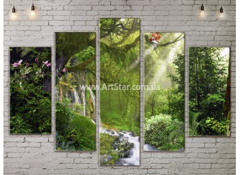 Модульные картины пейзажи, Art. NATA777445