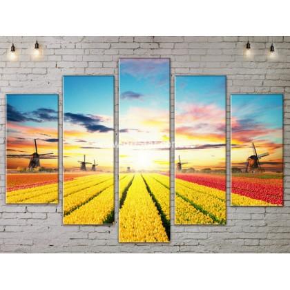 Модульные картины пейзажи, Art. NATA777449