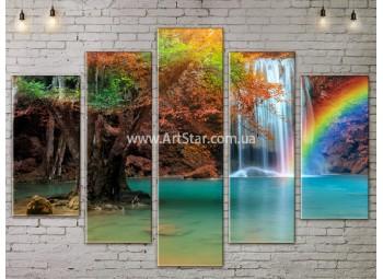 Модульные картины пейзажи, Art. NATA777487