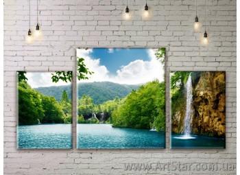 Модульные картины пейзажи, Art. NATM001