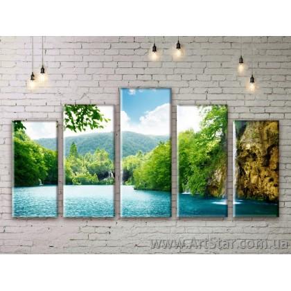 Модульные картины, пейзажи, Art. NATM0005