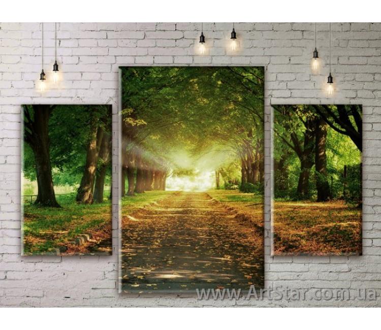 Модульные картины пейзажи, Art. NATM0019