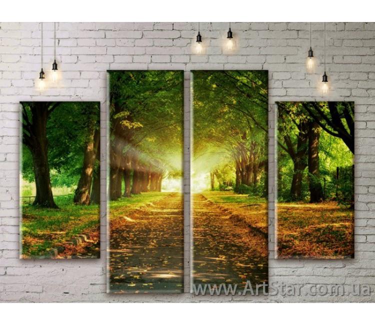 Модульные картины, пейзажи, Art. NATM0021