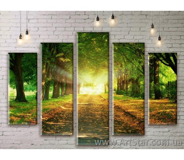 Модульные картины, пейзажи, Art. NATM0023
