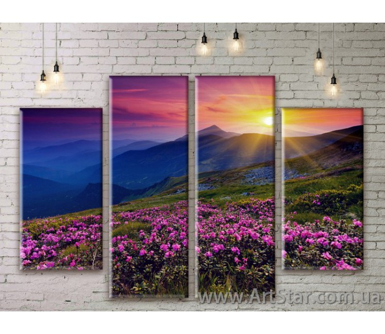 Модульные картины, пейзажи, Art. NATM0039