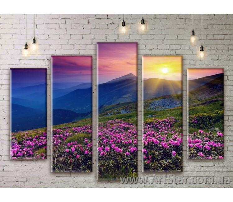 Модульные картины, пейзажи, Art. NATM0041